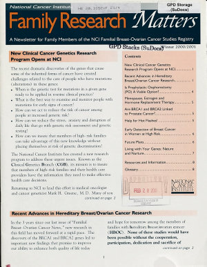 Family Research Matters PDF