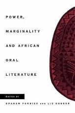 Power  Marginality and African Oral Literature PDF