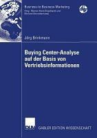 Buying Center Analyse auf der Basis von Vertriebsinformationen PDF