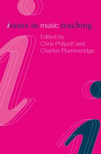 Issues in Music Teaching Book