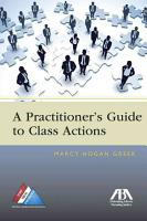 A Practitioner s Guide to Class Actions PDF