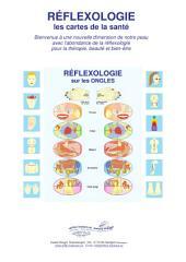RÉFLEXOLOGIE sous les ONGLES: Réflexologie - les cartes de la santé