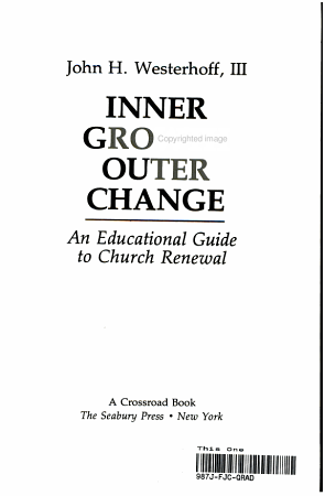 Inner Growth  Outer Change PDF