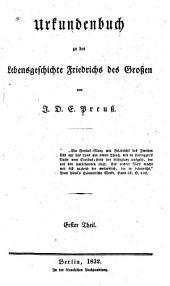 Friedrich der Grosse: Eine lebensgeschichte, Bände 1-2