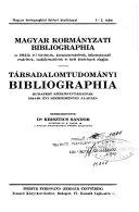 Download Bibliographie der Sozialwissenschaften Book