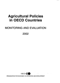 Agricultural Policies in OECD Countries PDF