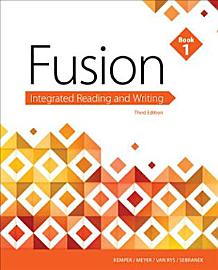 Fusion  Integrated Reading And Writing  Book 1