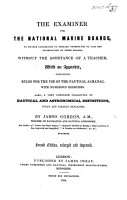 The Examiner for the National Marine Boards     Second Edition  Enlarged and Improved PDF