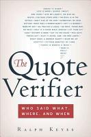 The Quote Verifier PDF