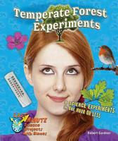 Temperate Forest Experiments PDF