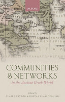 Communities and Networks in the Ancient Greek World PDF