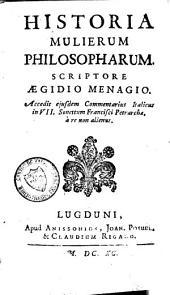 Historia mulierum philosopharum
