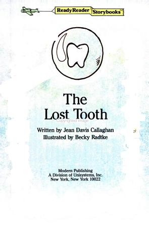 The Lost Tooth PDF