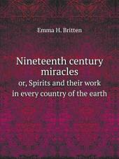 Nineteenth century miracles