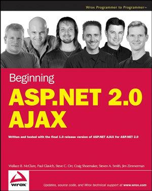 Beginning ASP NET 2 0 AJAX