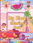 My First Coloring Book for 1 Year Old