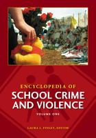 Encyclopedia of School Crime and Violence PDF