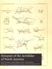 Synopsis of the Acrididae of North America: Volume 5, Part 1
