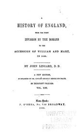 A History of England: Volume 8