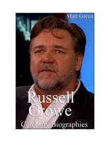 Celebrity Biographies   The Amazing Life Of Russell Crowe   Famous Actors PDF