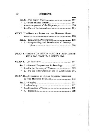 The Hospital Steward s Manual  for the Instruction of Hospital Stewards  Ward masters  and Attendants  in Their Several Duties