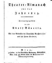 Theater-Almanach hrsg. von Adolf Bauerle