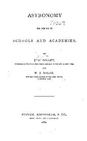 Astronomy for the Use of Schools and Academies
