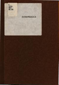 Antropol  gica Book