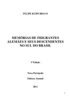 Mem  rias de imigrantes alem  es e seus descendentes no Sul do Brasil PDF