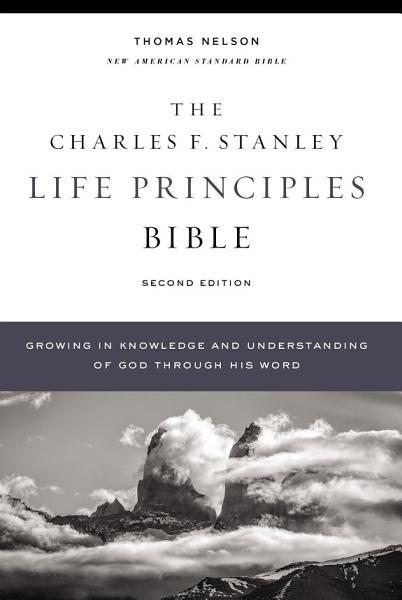 NASB, Charles F. Stanley Life Principles Bible, 2nd Edition, Ebook