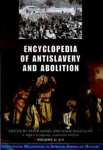 Encyclopedia of Antislavery and Abolition PDF