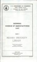 Biennial Census of Manufactures PDF