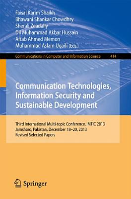 Communication Technologies  Information Security and Sustainable Development PDF