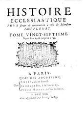 Histoire Ecclesiastique: Depuis l'an 1528. jusqu'en 1535, Volume27
