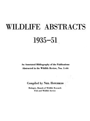 Wildlife Abstracts