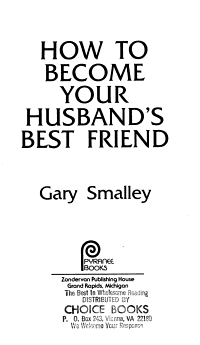 How to Become Your Husband s Best Friend