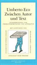 Zwischen Autor und Text PDF