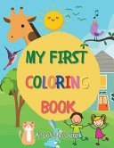 My First Coloring Book PDF