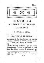 Historia política y literaria de Grecia, 3