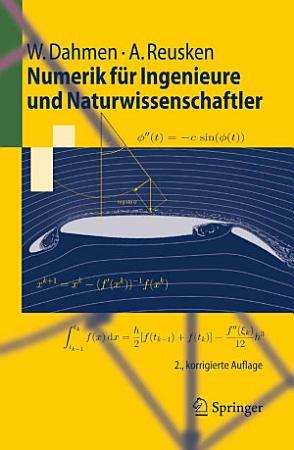 Numerik f  r Ingenieure und Naturwissenschaftler PDF