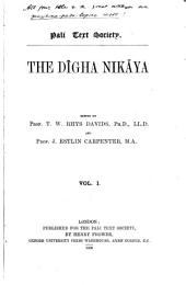The Dīgha-nikāya: Volume 1