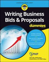 Writing Business Bids and Proposals For Dummies PDF