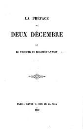 La Préface du deux décembre