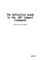 The Definitive Guide to the  NET Compact Framework PDF