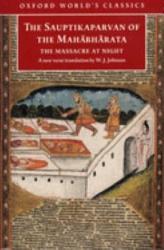 The Sauptikaparvan Of The Mahabharata Book PDF