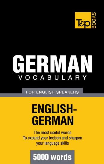 German vocabulary for English speakers   5000 words PDF