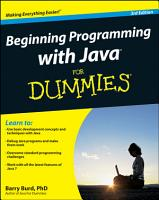Beginning Programming with Java For Dummies PDF