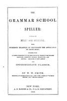 The Grammar School Speller PDF