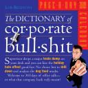 THE DICTIONARY OF CORPORATE BULLSHIT 2009 CAL PDF