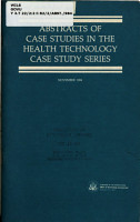 Abstracts of Case Studies in the Health Technology Case Study Series PDF